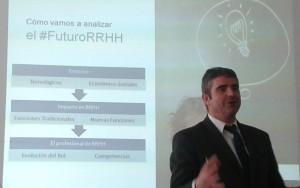 Virginio Gallardo. Presentación del estudio Cigma sobre tendencias de RRHH.