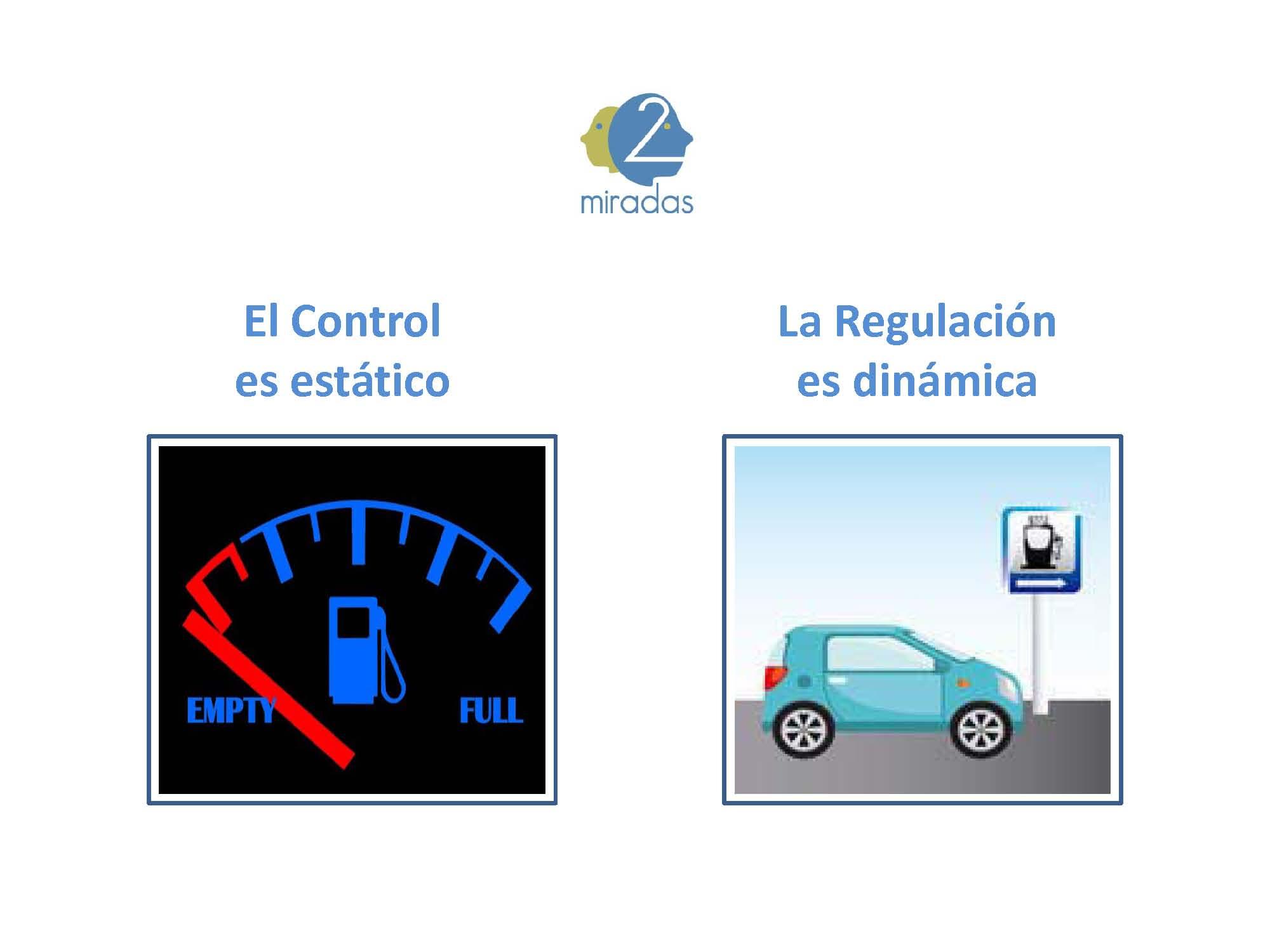Diferencia control y regulación