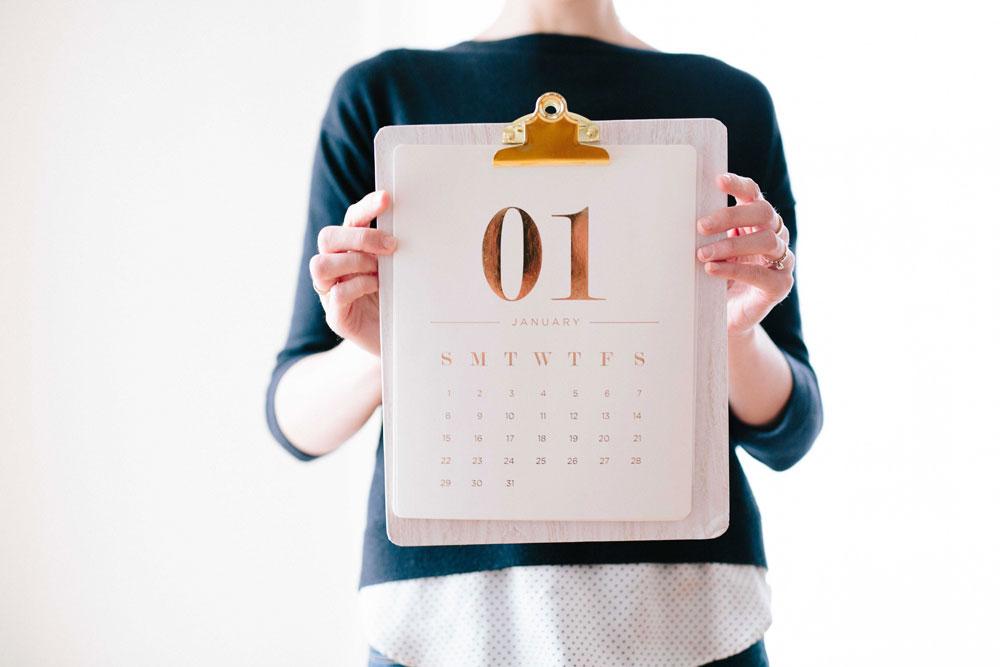Coger el ritmo al año nuevo